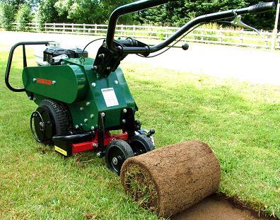 grass removal machine